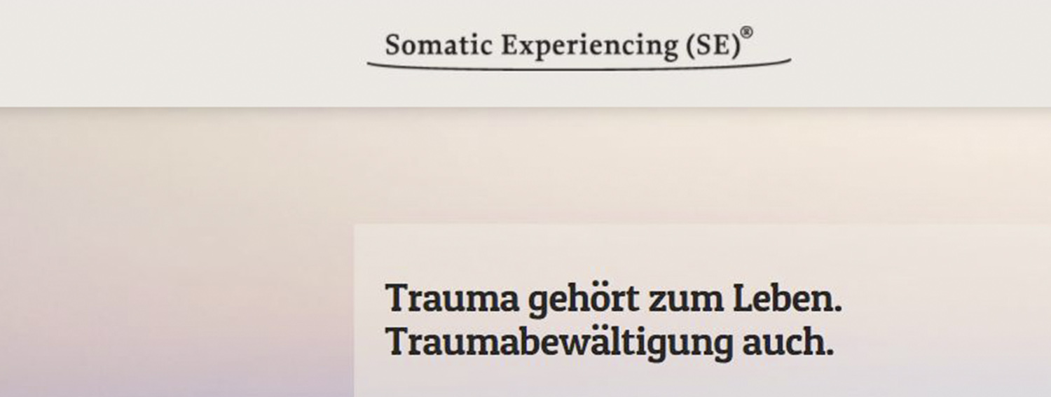 Somatic Experiencing-SE